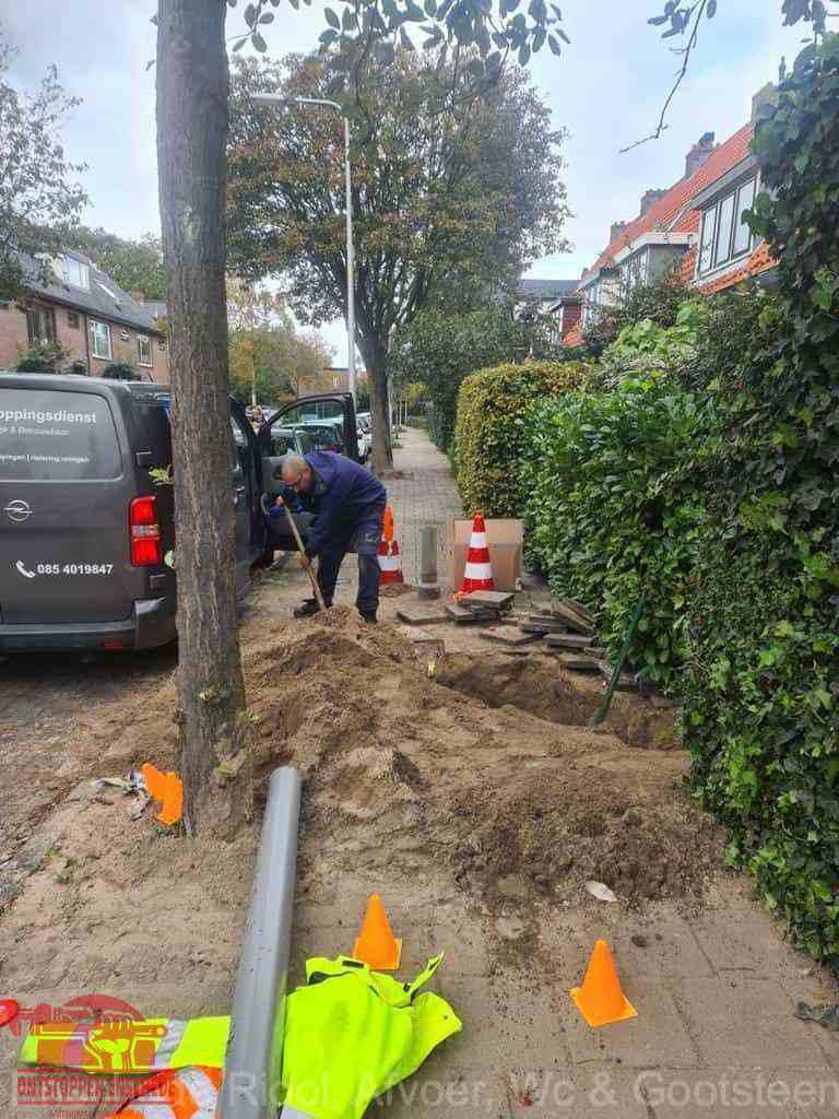 Graven riool Enschede